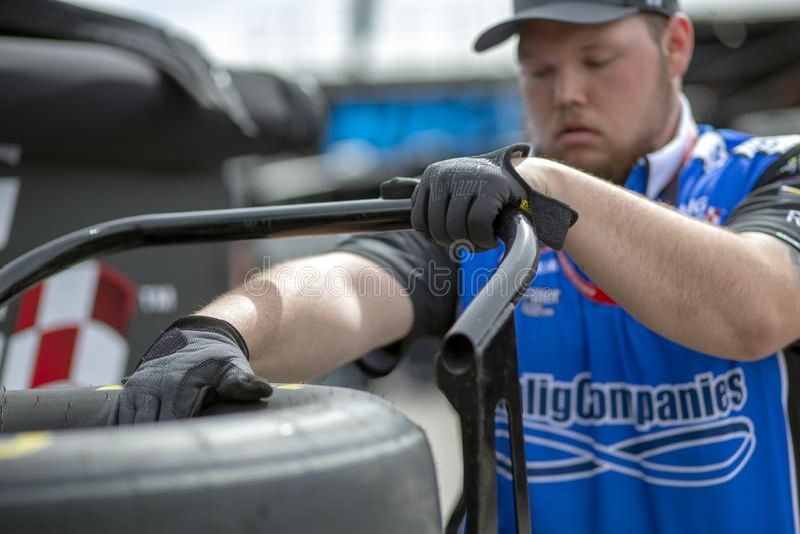 NASCAR: Marzec 01 Boyd hazard 300 obraz royalty free