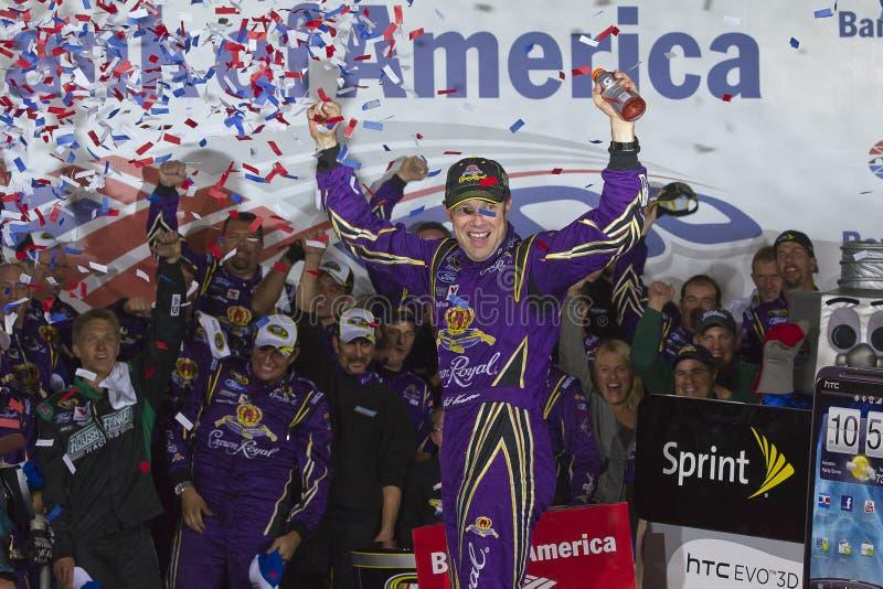 NASCAR: Matt Kenseth Victory Lane royalty free stock image