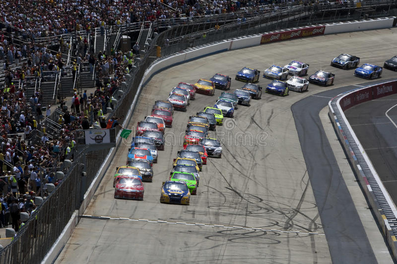 Download NASCAR:  May 16 Autism Speaks 400 Editorial Photography - Image: 14367127