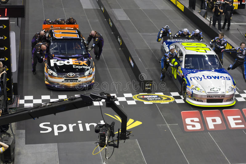 Download NASCAR:  May 17 Pit Crew Challenge Editorial Stock Photo - Image: 24897888