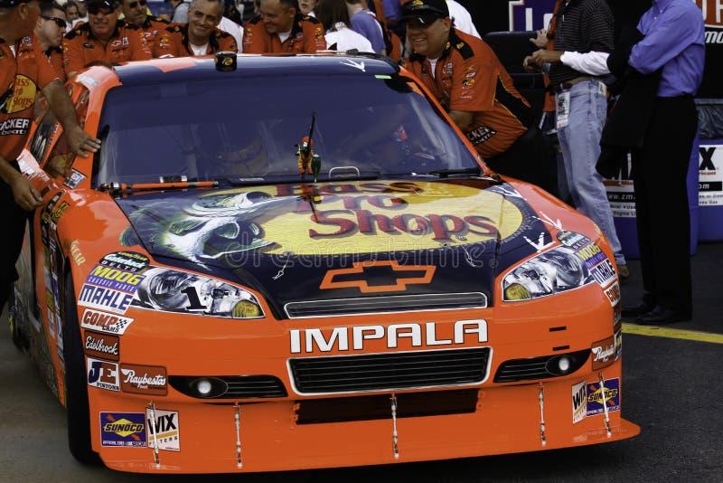 NASCAR - mcMurray's -1 Chevy Grać główna rolę Chevy obrazy stock