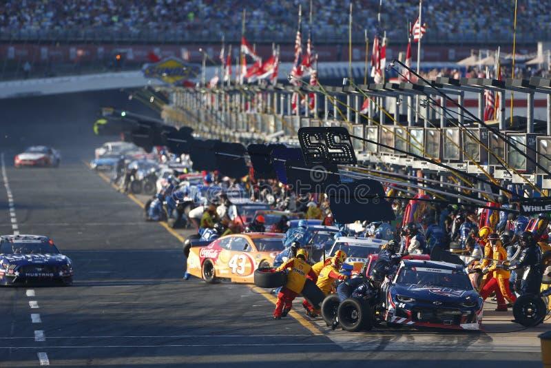 NASCAR: 26 mei Coca-Cola 600 stock foto's