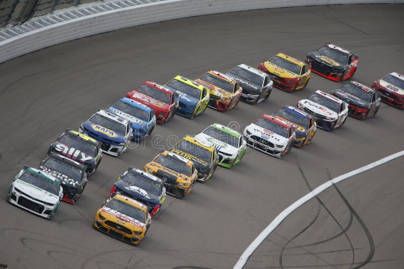 NASCAR: 11 mei Digitale Bondgenoot 400 royalty-vrije stock foto