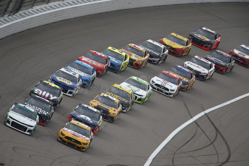 NASCAR: 11 mei Digitale Bondgenoot 400 stock foto