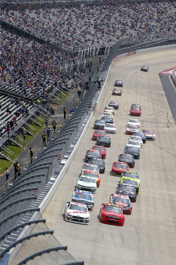 NASCAR: Mei 04 Verenigde Staalgebouwen 200 stock afbeeldingen