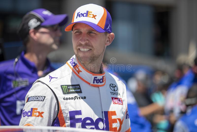 NASCAR: MERCADO 350 do 22 de junho TOYOTA/SAVE foto de stock