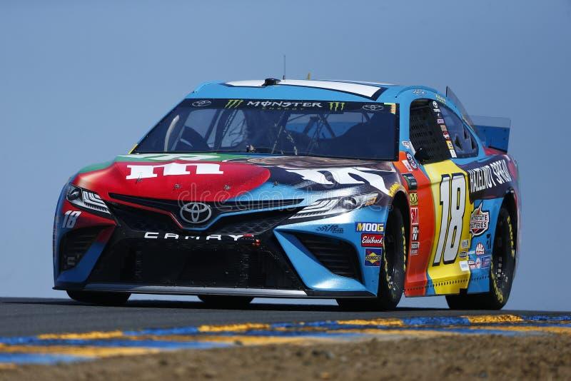 NASCAR: MERCADO 350 do 21 de junho TOYOTA/SAVE imagem de stock royalty free
