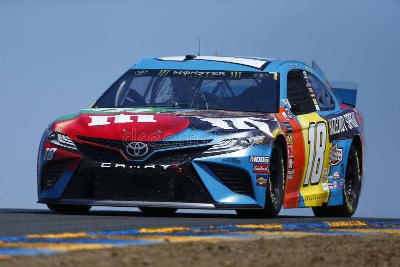 NASCAR: MERCADO 350 do 21 de junho TOYOTA/SAVE fotos de stock royalty free