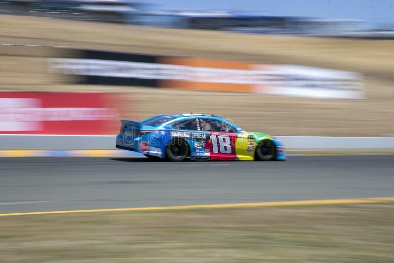 NASCAR: MERCADO 350 do 21 de junho TOYOTA/SAVE fotografia de stock