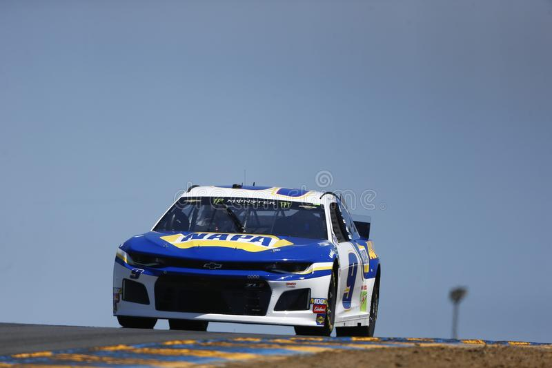 NASCAR: MERCADO 350 do 21 de junho TOYOTA/SAVE imagens de stock royalty free