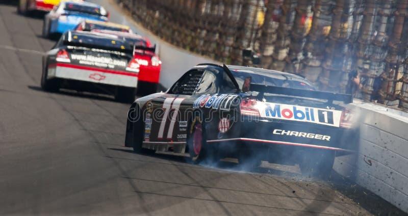 NASCAR: Mobil 1 Zijsprong Allstate 400 stock foto