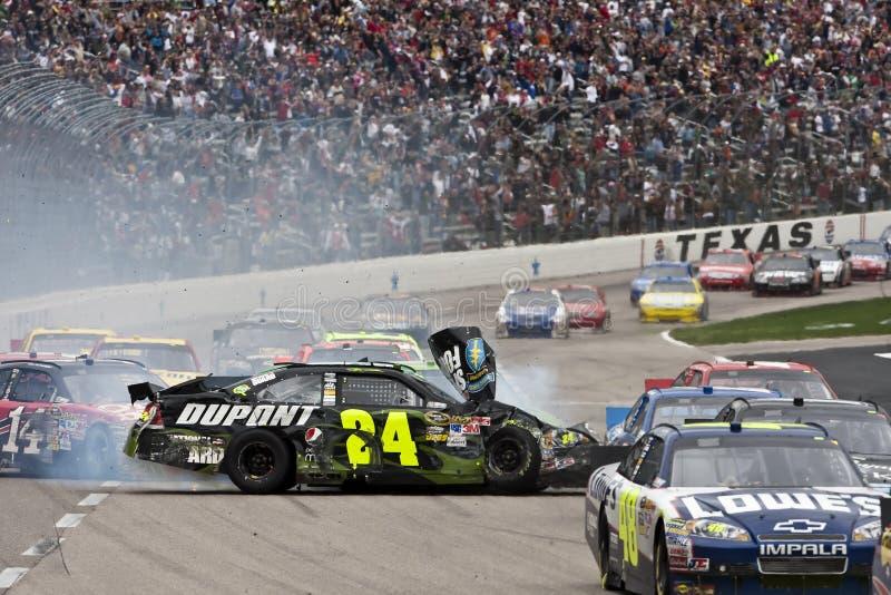 NASCAR: Mobile 500 del 19 aprile Samsung fotografie stock