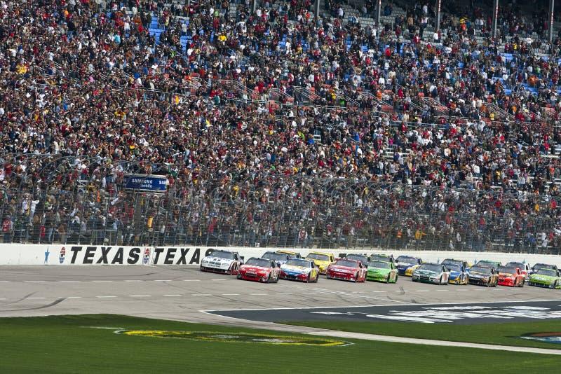 NASCAR : Mobile 500 du 19 avril Samsung images libres de droits