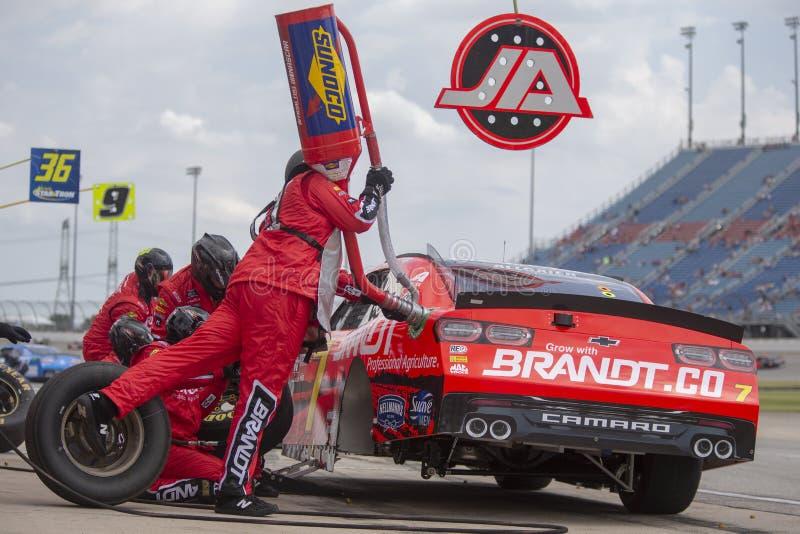 NASCAR : Monde 300 de camping du 29 juin image stock
