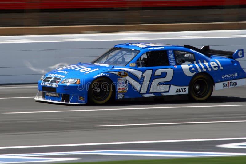 NASCAR - Newman em Lowes imagens de stock