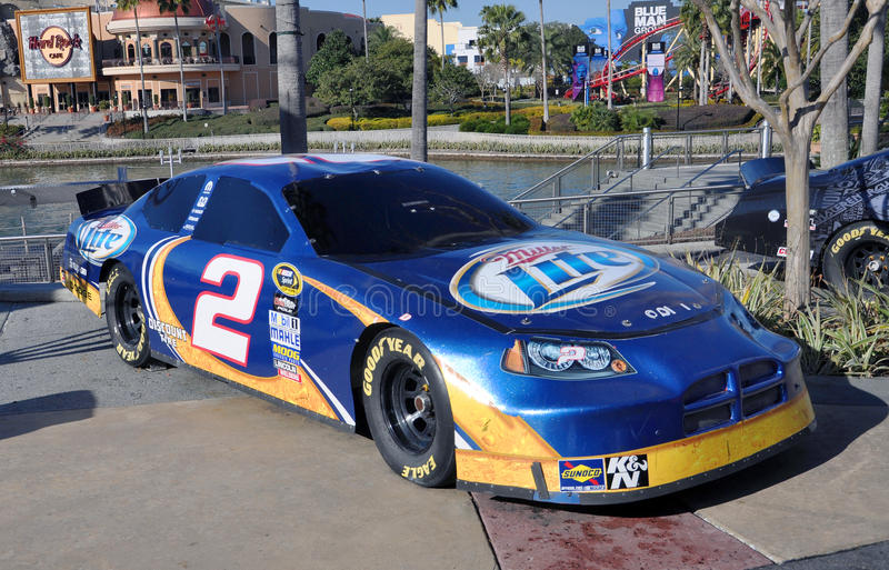 Download Nascar No.2 Miller Lite Charger In Universal Editorial Stock Photo - Image: 23408908