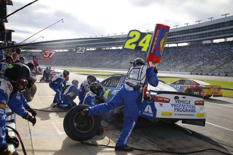 NASCAR: 04 november AMERIKAANSE CLUB VAN AUTOMOBILISTEN Texas 500 royalty-vrije stock fotografie