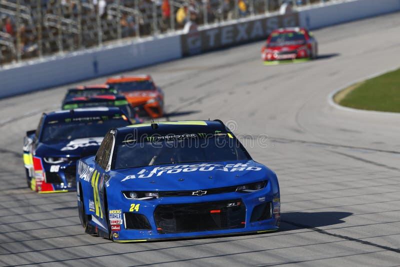 NASCAR: 04 november AMERIKAANSE CLUB VAN AUTOMOBILISTEN Texas 500 royalty-vrije stock afbeeldingen