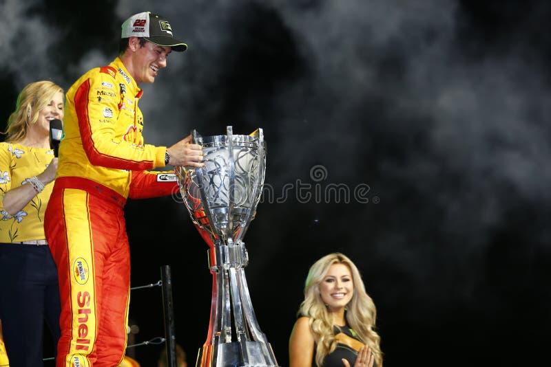 NASCAR: November 18 Ford 400 royaltyfria bilder