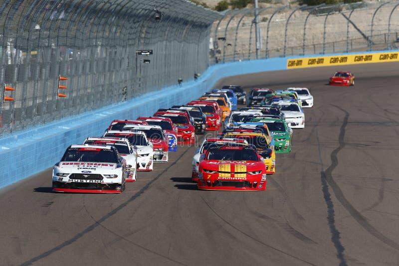 NASCAR: November 10 Whelen Trusted to Perform 200. November 10, 2018 - Avondale, Arizona, USA: November 10, 2018 - Avondale, Arizona, USA: Austin Cindric 22 royalty free stock image