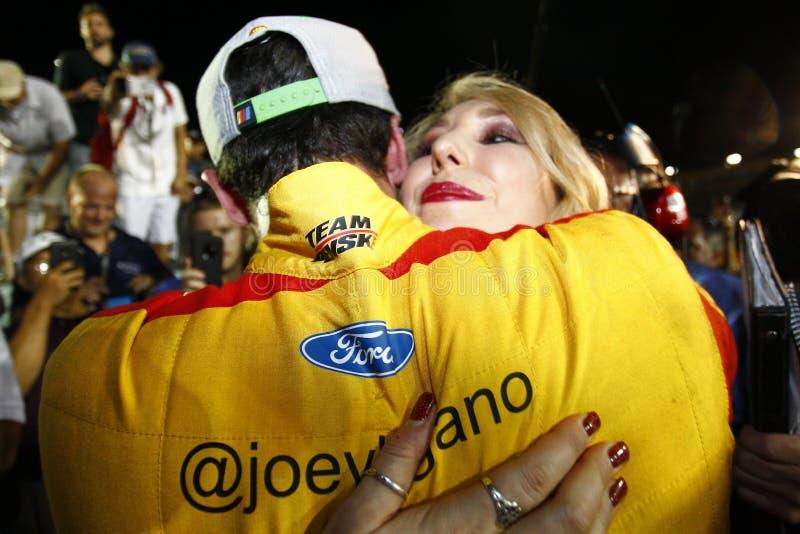 NASCAR : 18 novembre Ford 400 images libres de droits