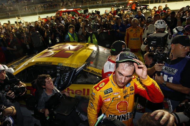 NASCAR : 18 novembre Ford 400 photographie stock