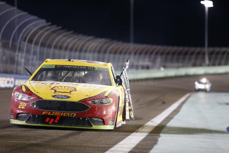 NASCAR : 18 novembre Ford 400 image libre de droits