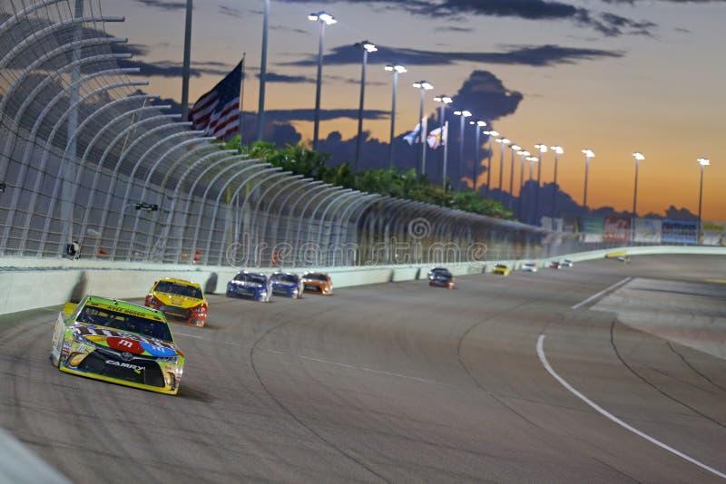 NASCAR : 22 novembre FORD EcoBoost 400 photos libres de droits
