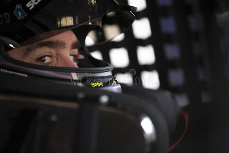NASCAR: O 3 de agosto vai rolar no vale imagens de stock