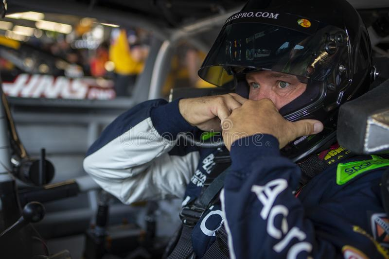 NASCAR: O 3 de agosto vai rolar no vale fotografia de stock royalty free