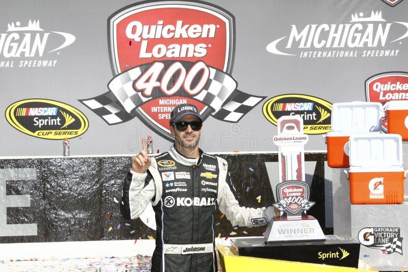NASCAR: O 15 de junho acelera os empréstimos 400 imagens de stock