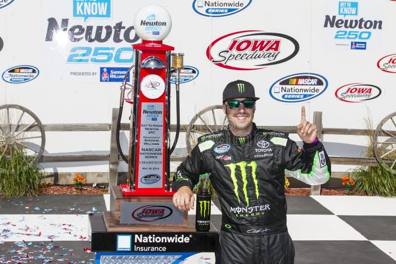 NASCAR: O 18 de maio conhece Newton 250 fotografia de stock royalty free