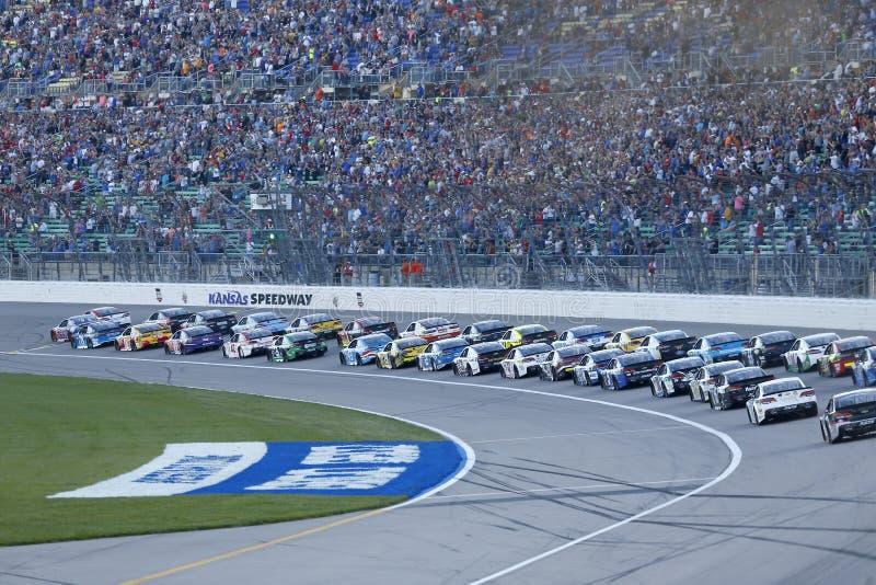 NASCAR: O 13 de maio vai 400 de rolamento imagem de stock