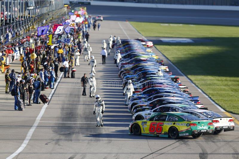 NASCAR: O 13 de maio vai 400 de rolamento fotografia de stock royalty free