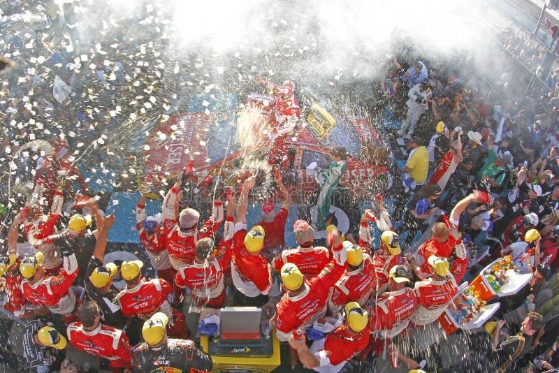 NASCAR: O 9 de novembro acelera os heróis 500 da raça dos empréstimos imagem de stock