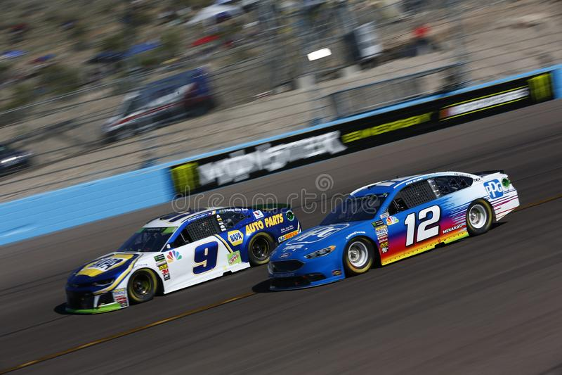 NASCAR: O 11 de novembro Poder-está 500k foto de stock royalty free