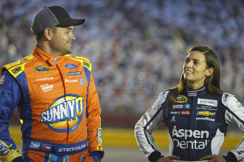 NASCAR: Oct 06 Bank of America 500 royalty free stock images