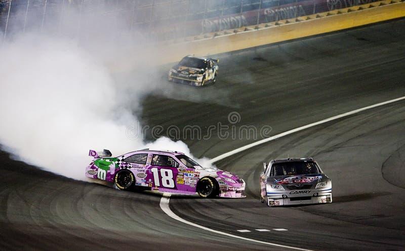 NASCAR: October 17 NASCAR Banking 500 stock photo