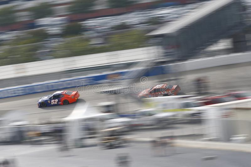 NASCAR: October 07 Gander Outdoors 400 stock photography