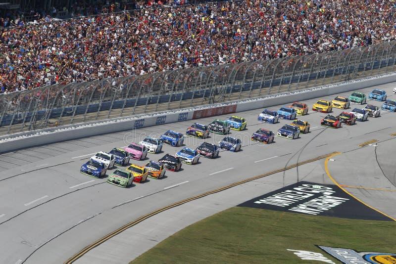 NASCAR: 15 oktober Alabama 500 stock foto's