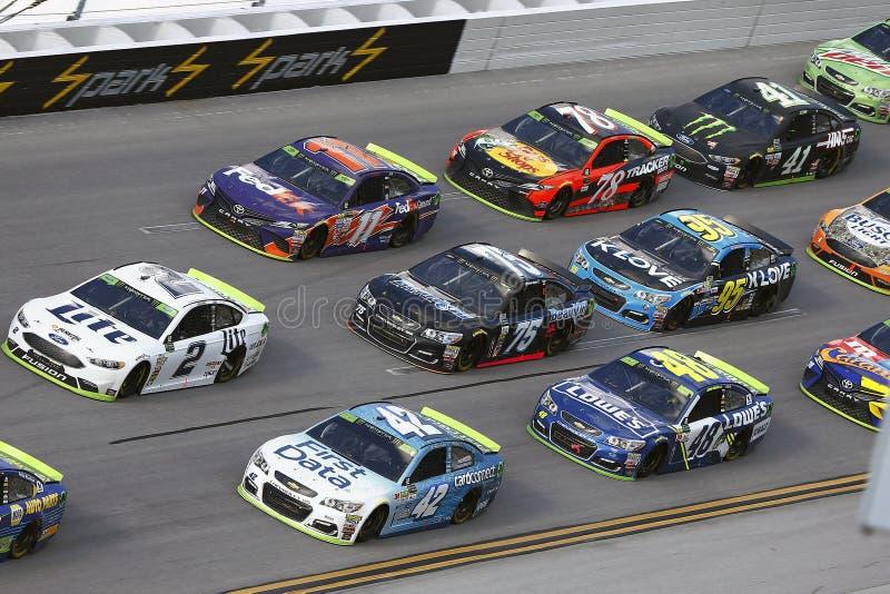 NASCAR: 15 oktober Alabama 500 stock afbeeldingen