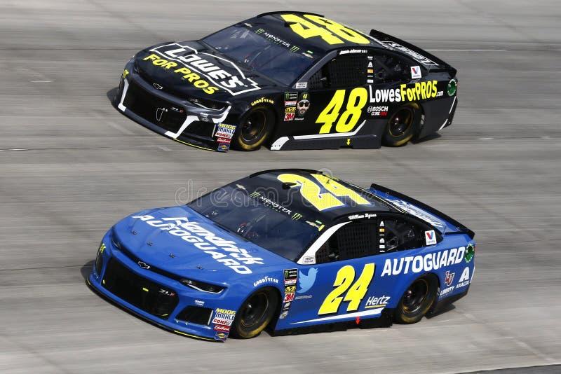 NASCAR: 07 oktober Gander in openlucht 400 royalty-vrije stock foto