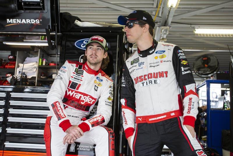 NASCAR: 19 oktober Hollywood-Casino 400 royalty-vrije stock foto