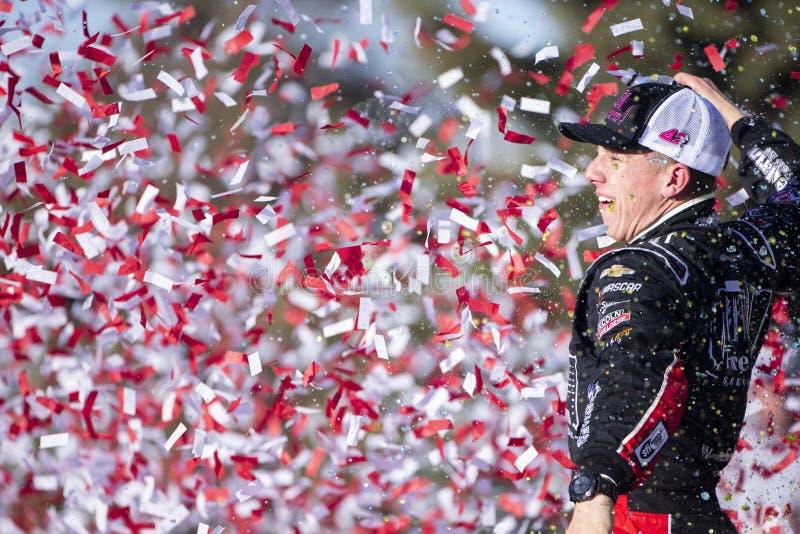 NASCAR: Oktober 20 Kansas lotteri 300 royaltyfri bild