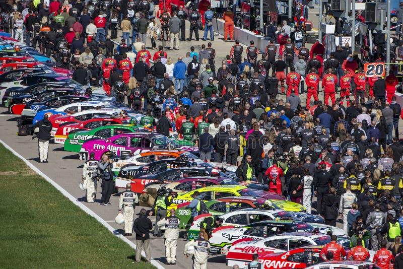 NASCAR: 20 oktober Loterij 300 van Kansas stock fotografie