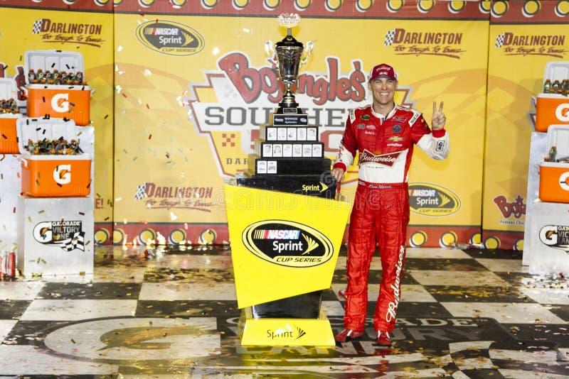 NASCAR: Os 500 do sul de Bojangles do 13 de abril fotografia de stock