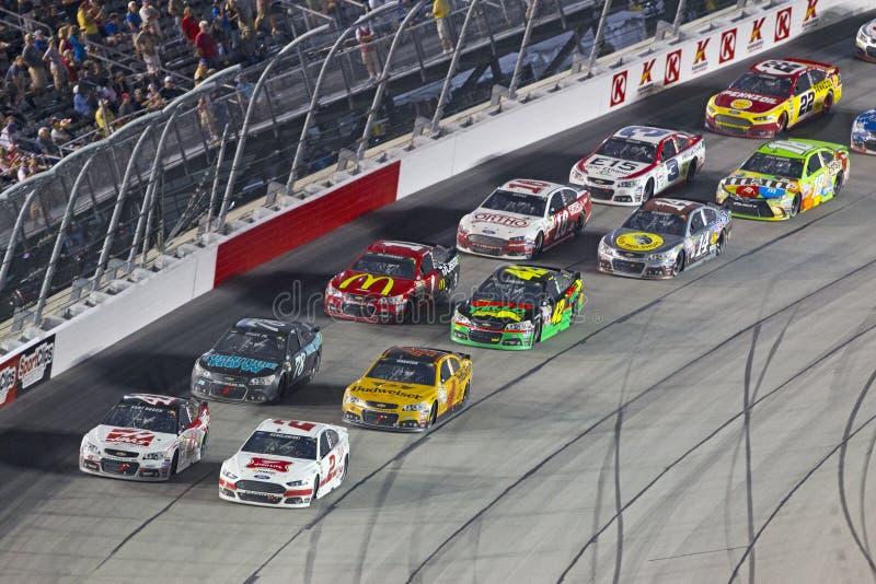 NASCAR: Os 500 do sul de Bojangles do 6 de setembro foto de stock