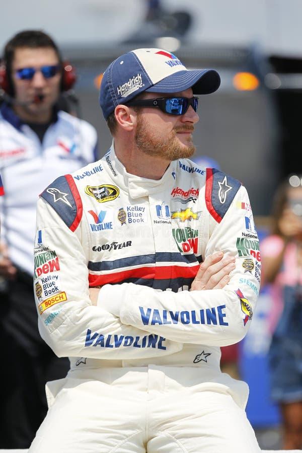 NASCAR: Os 500 do sul de Bojangles do 5 de setembro fotografia de stock royalty free