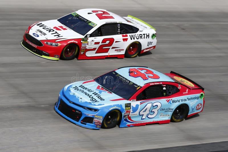 NASCAR: Października 07 gąsior Outdoors 400 obrazy royalty free