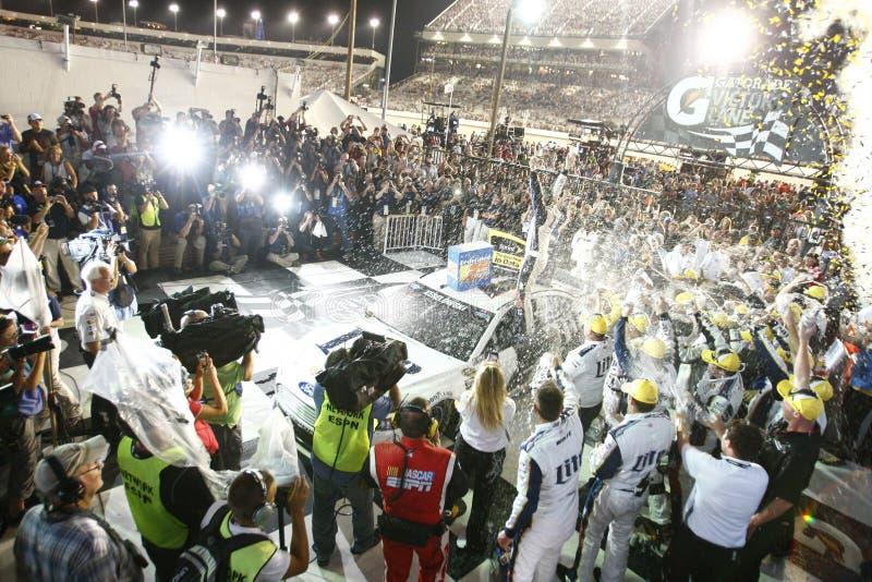 NASCAR: Peças de automóvel federadas 6 de setembro 400 foto de stock royalty free